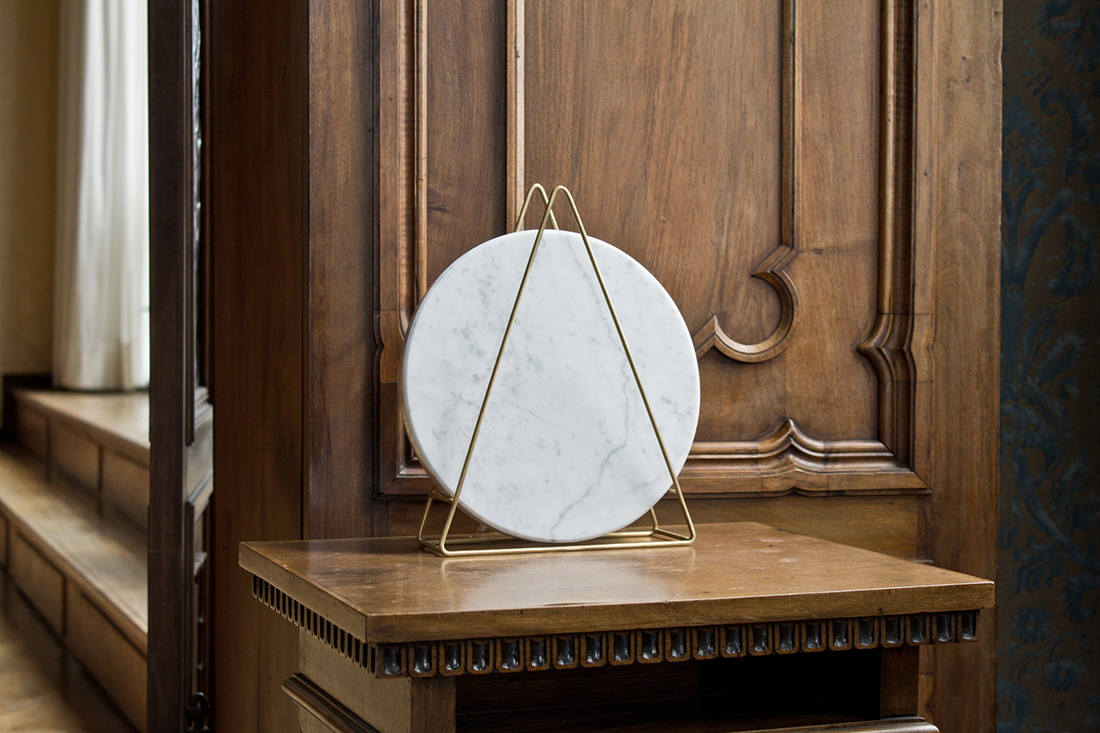 Adg Design Davide G Aquini Novecento Marble Lamp