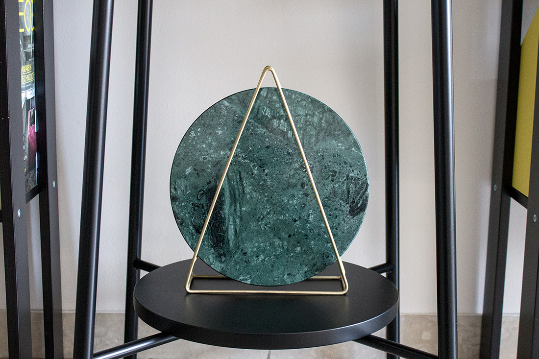 Green Marble Lamp