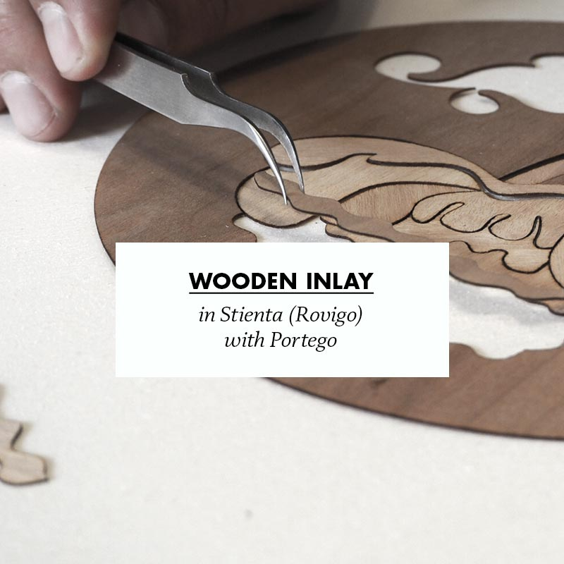 making of genesini wooden inlay in stienta