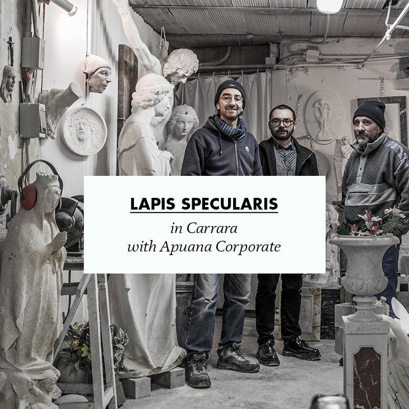 making of lapis specularis in carrara