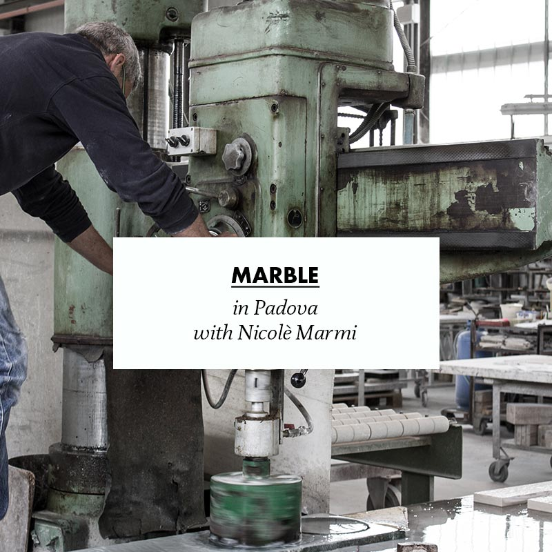 making of novecento marble in padova