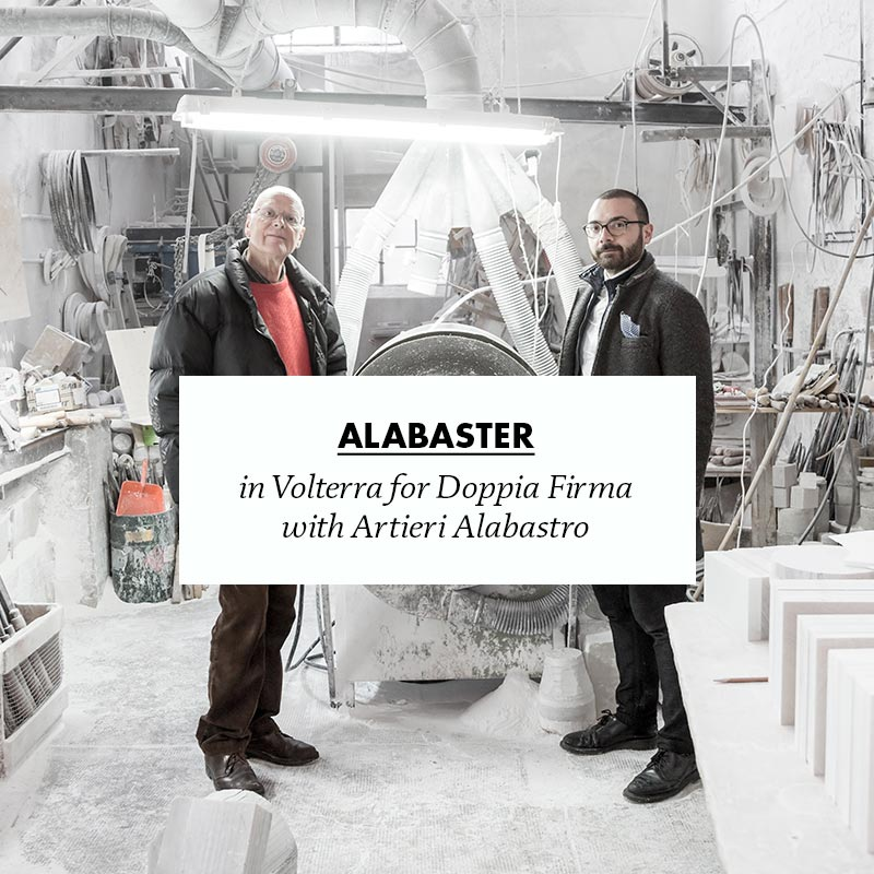 making of opus alabaster in volterra